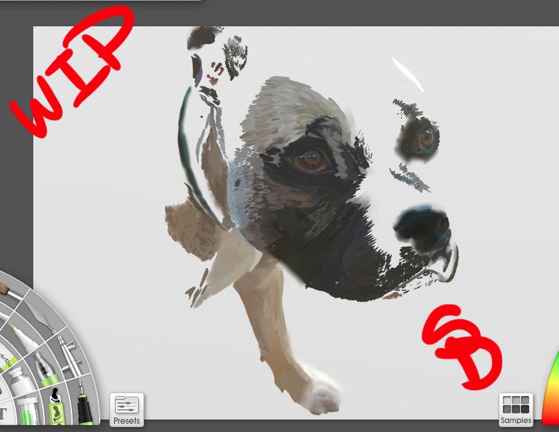 WIP Digital Buddy Painting by RenoxofxthexTurks