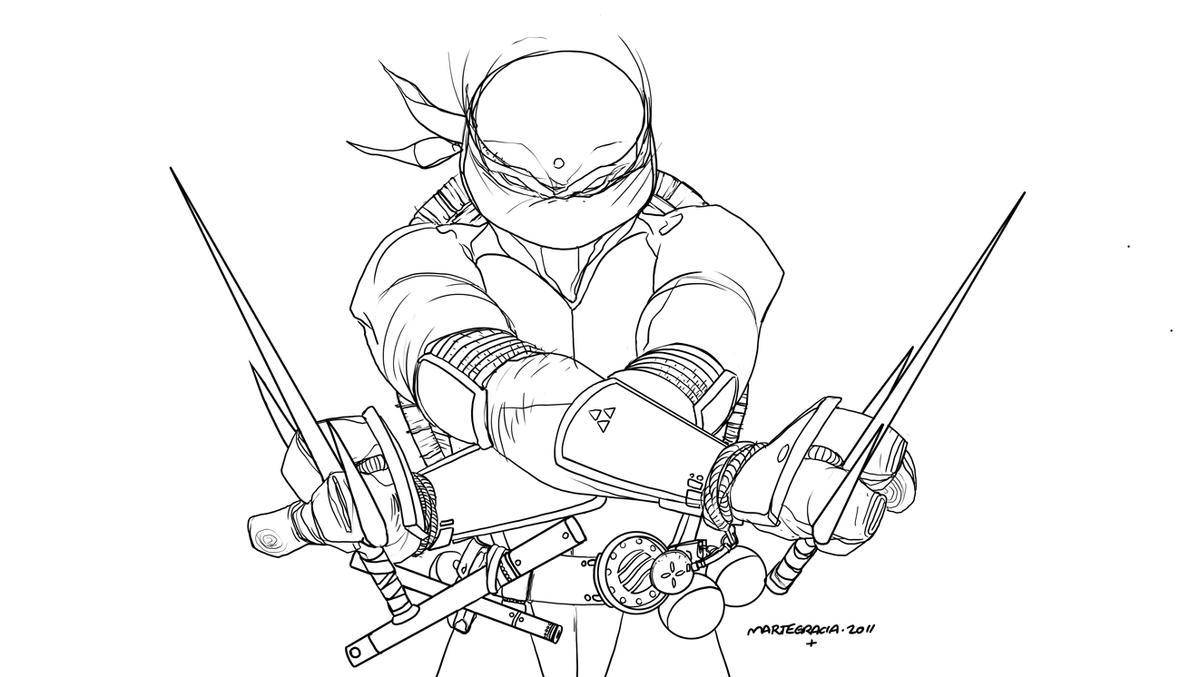 Line Art Ninja Turtles : Tmnt sketch michelangelo by eternities shadow no