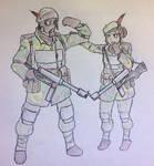 WH40k: Vesper-Meridiem Binary Guard