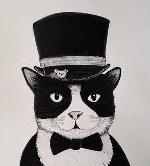 Gentleman's portrait.