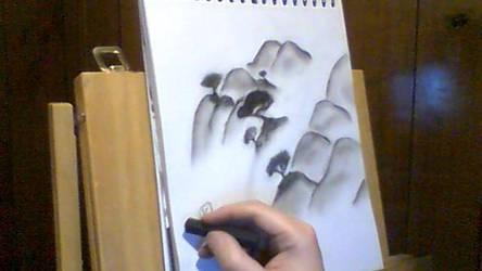 Charcoal Mysty Falls