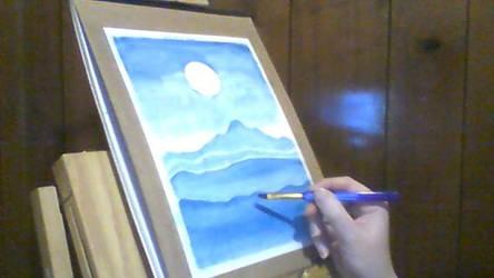 Watercolour Monochrome