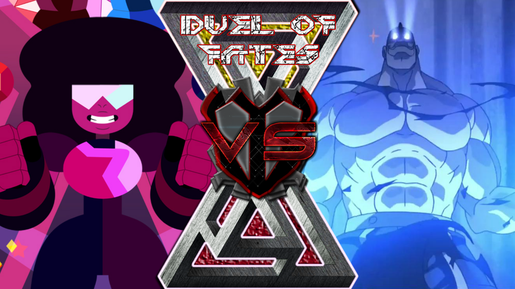 Garnet vs. Alex Louis Armstrong by Brave-King-Shishio