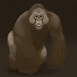 Gorilla? by Ag3ntAn0nym0us
