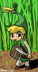 Zelda: Minish Cap by Purple-Neon