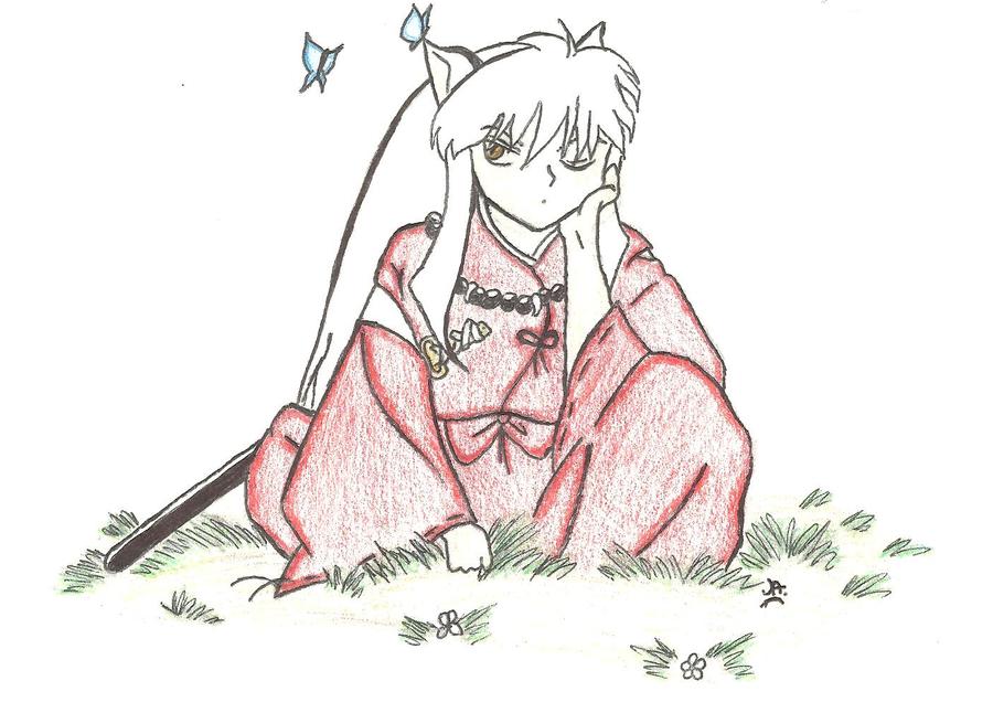 Inu-Yasha Chibi by ZeldaWolf7