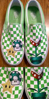 Super Mario Shoes by one-crazy-fox