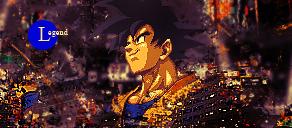 Goku: Legendary by Southern-Hospitality
