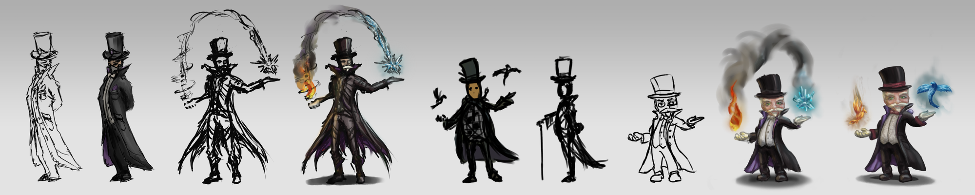 10 Character Design Tips : The illusionist character ideas by akiftop on deviantart