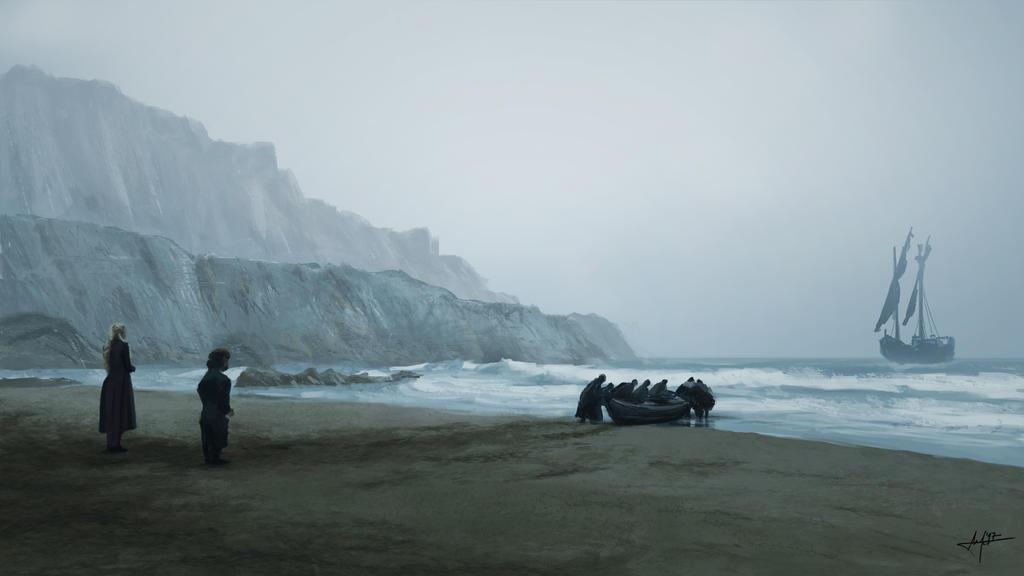 GoT - Eastwatch, Dragonstone shore by akiftop