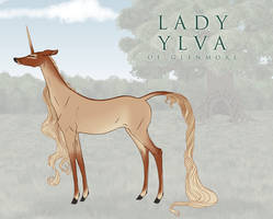 Lady Ylva | Doe | Glenmore by TigressDesign