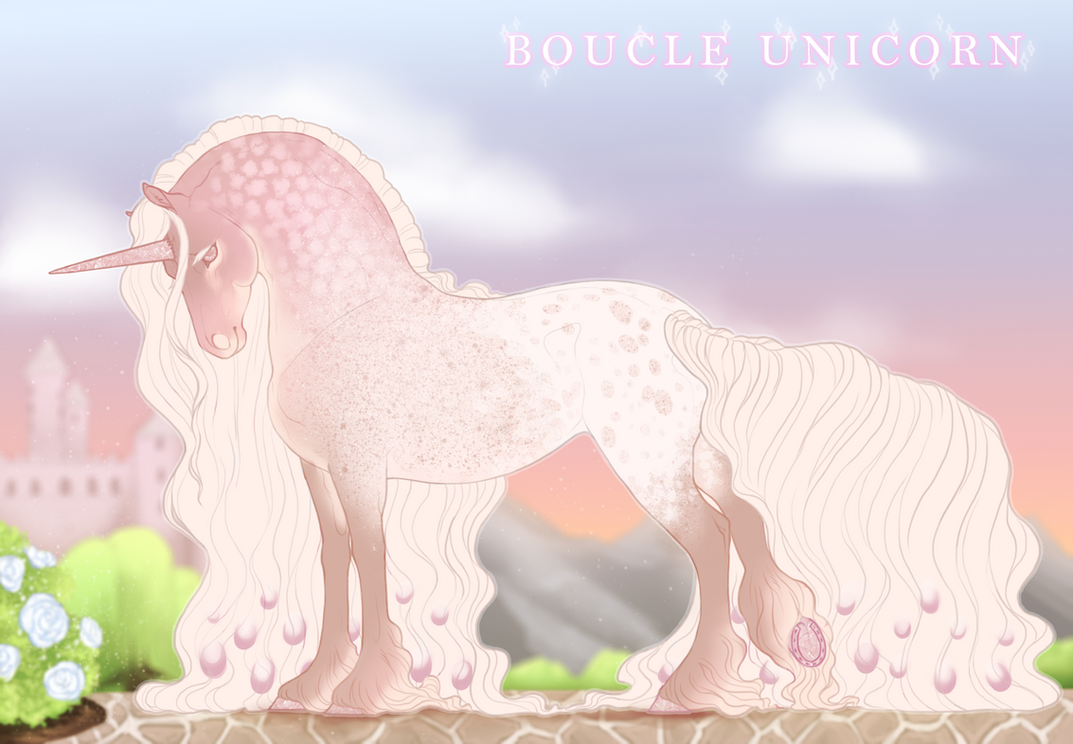 Boucle Unicorn Import K474 by TigressDesign