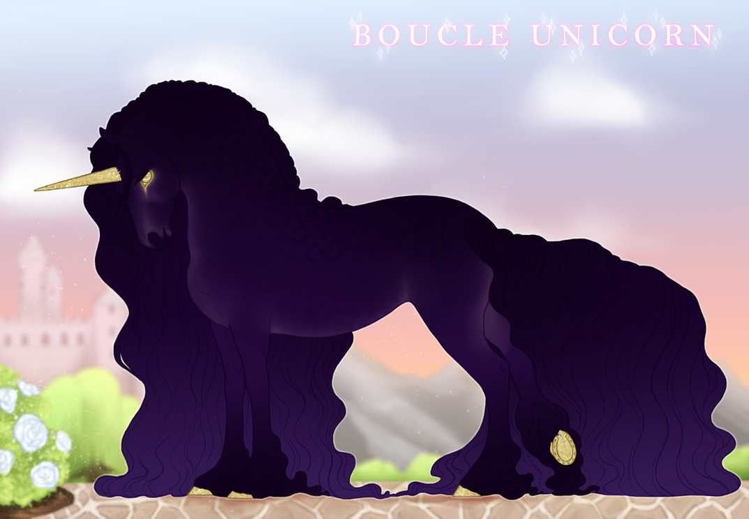 Boucle Unicorn Import K476 by TigressDesign