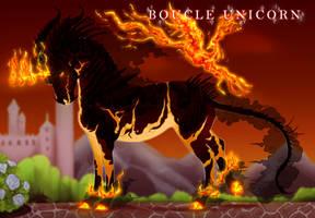 Boucle Unicorn Import L100 by Tigglesaurus