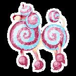 L045   SR's Curlique Cutie   Boucle Stallion