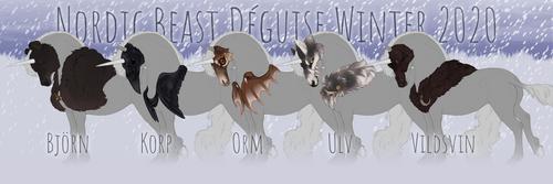 Nordic Beast Deguise - Winter 2020