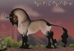 Boucle Unicorn Import T466