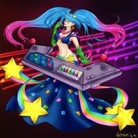Arcade Sona by Schynzie-Kyuu