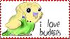 Budgie stamp by StephanieBF