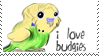 Budgie stamp by StephanieBF
