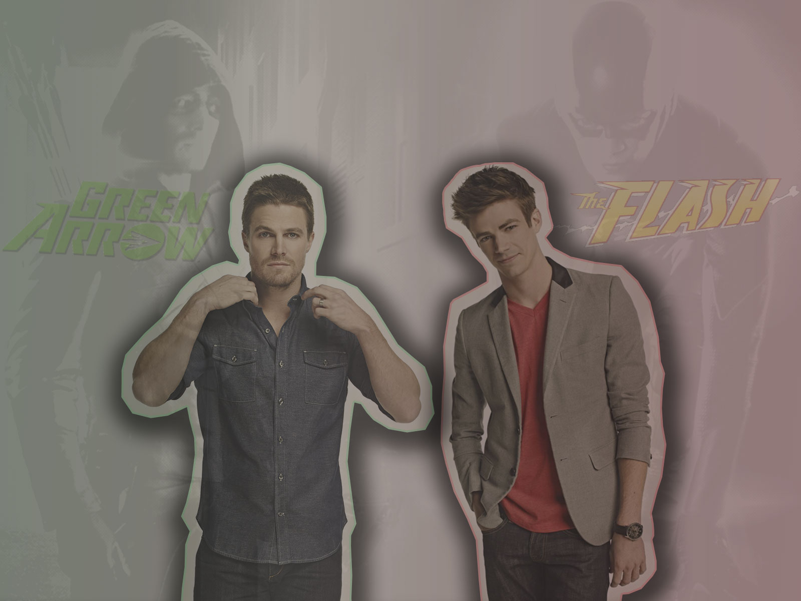 BloodyLullaby95 Barry Allen And Oliver Queen By