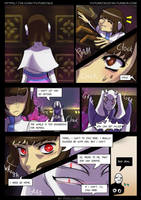 FutureTale: CHAPTER 1 - RUINS 46 page by KasugaBee