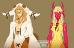 Qilby and Shinonome