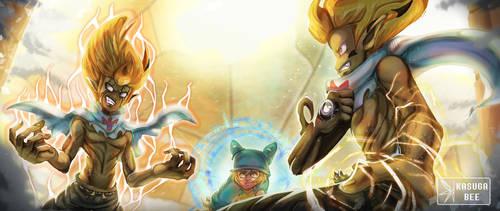 Rubilax VS Tristepin by KasugaBee