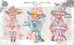 CatWitch mixed 3 auction [OPEN] by KasugaBee