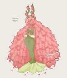 Princess Rosaria by KasugaBee