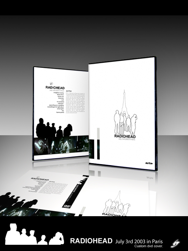 Radiohead DVD Cover by adrenn