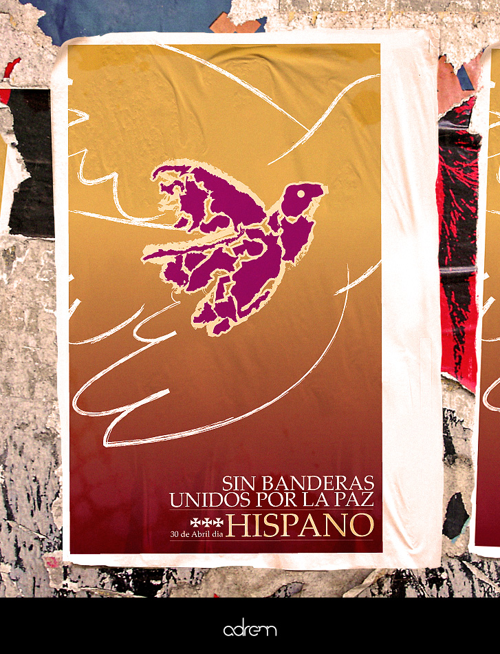 HISPANOS POR LA PAZ by adrenn