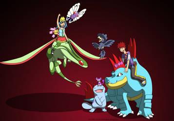 Pokemon Team Collab 2 by captaincabbage