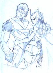 Pietro and Wanda by JazzRy