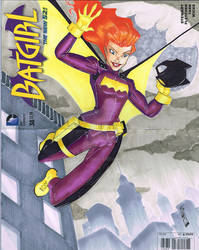 Batgirl Sketch Cover 2 small