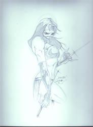 Elektra sketch by JazzRy