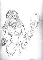 Isis Sketch by JazzRy