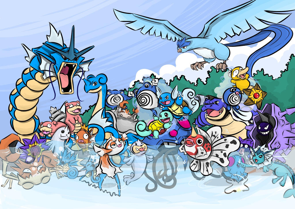 Pics for ice type pokemon wallpaper for All types of water