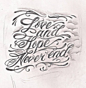 tattoo script lettering 2