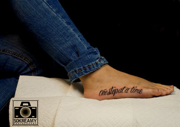 one step at a time tattoo by jeremyworst on deviantart