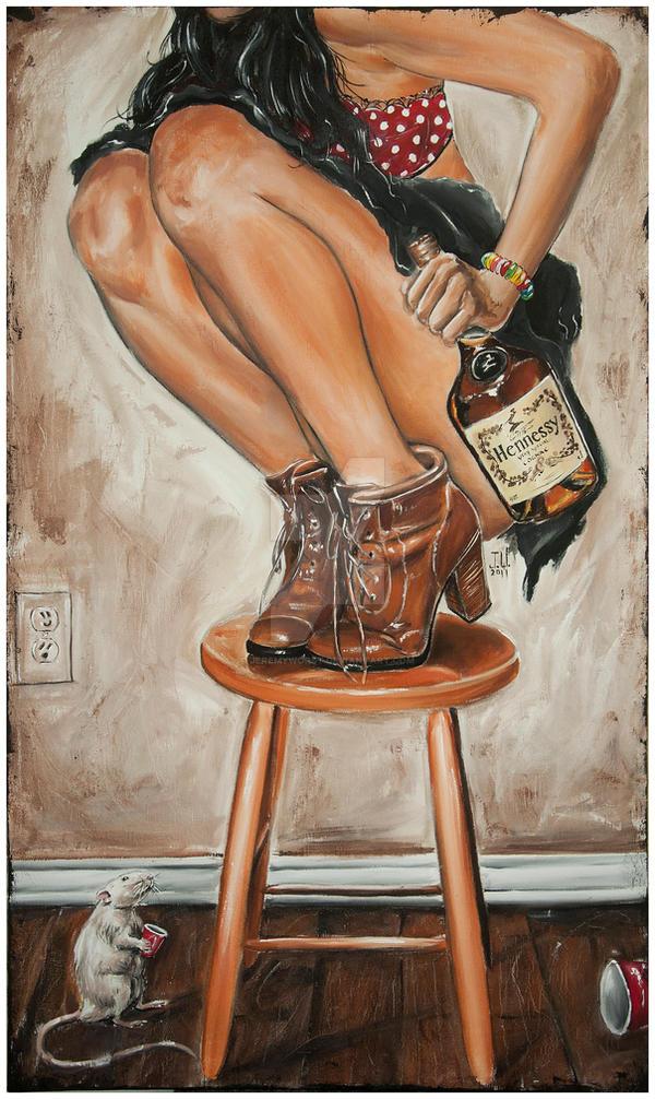 Rats its Hennesy by JeremyWorst