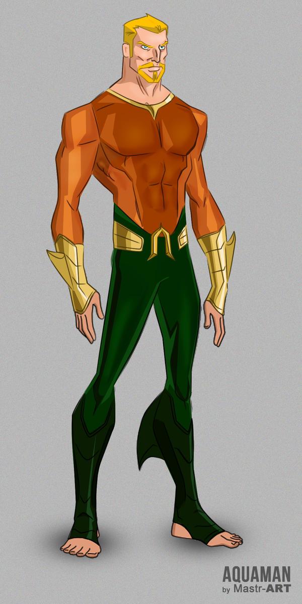 Aquaman by mastr-art