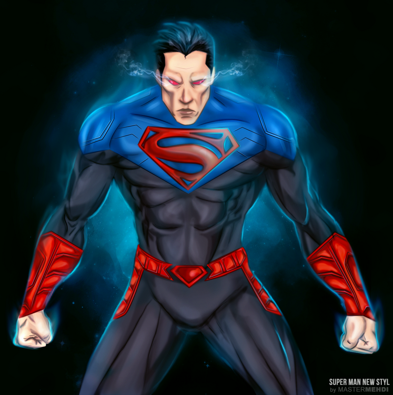 superman new style by mastr-art