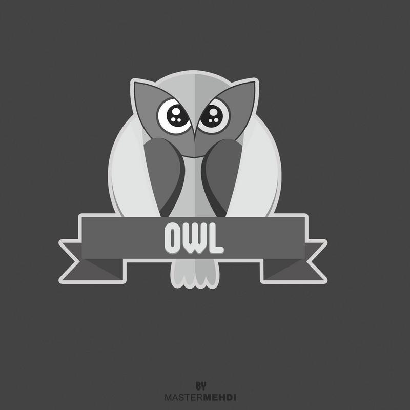 flat Owl by mastr-art