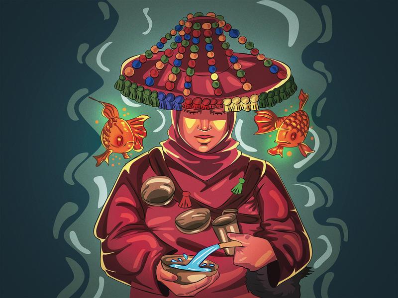Sa9ya .. the grape women by mastr-art