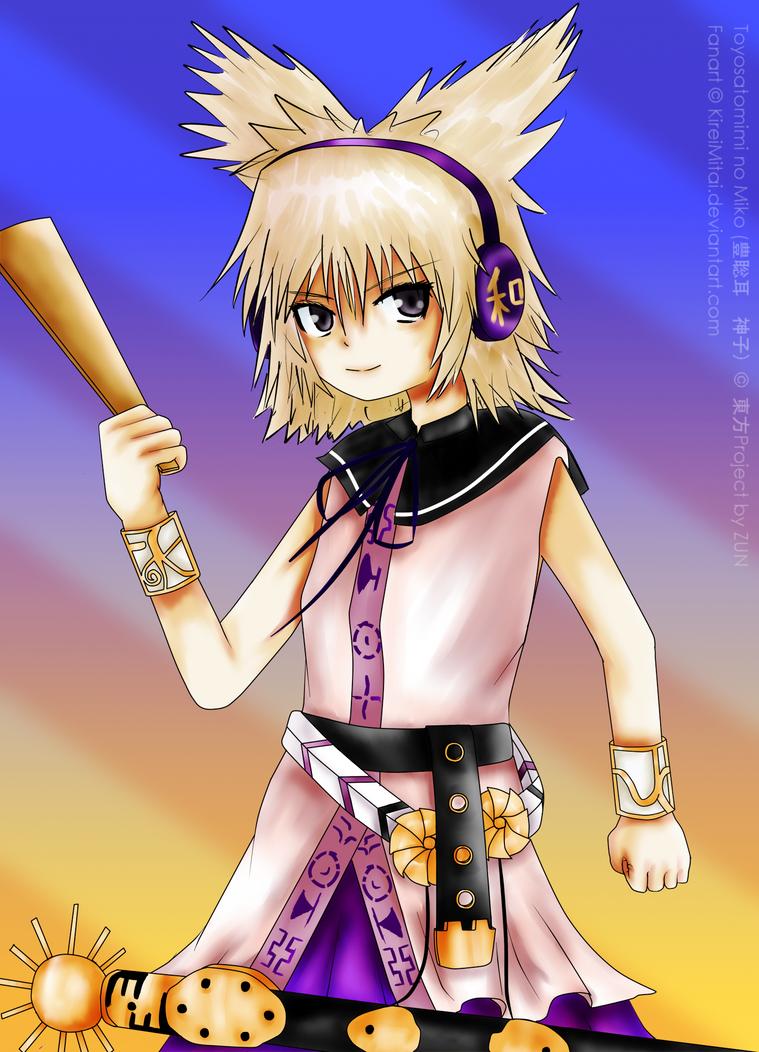 Cereal's Touhou fan-art Touhou_project__toyosatomimi_no_miko_by_kireimitai-d4pwvyh
