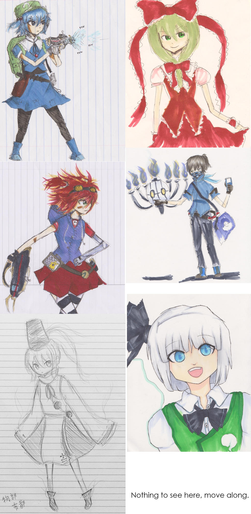 Cereal's Touhou fan-art - Pagina 6 Sketchdump_by_cryogeniccereal-d69l8hd