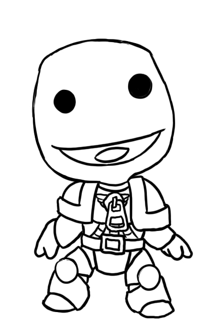 little big coloring pages - photo#7