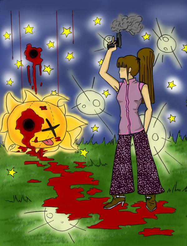 I HATE summer - coloured by savrene