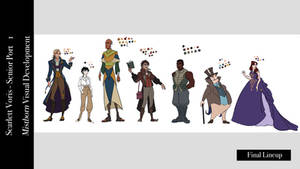 Mistborn Character Lineup